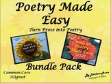 Poetry Writing Made Easy: Bundle