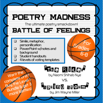 "Poetry Madness--Battle of Feelings: ""The Rider"" vs. ""Spring Storm"""