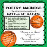 "Poetry Madness: ""Sleeping in the Forest"" vs. ""Ode to encha"