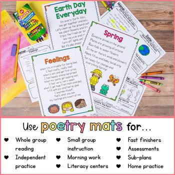 Poem of the Week | Poetry Activities Bundle
