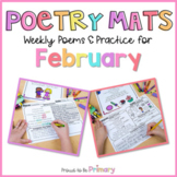 Poem of the Week Poetry Activity Mats for February