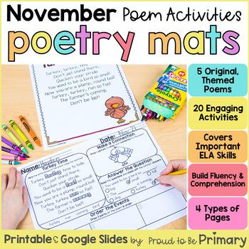 Poetry Mats for November