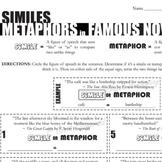 Poetry - Metaphors & Similes