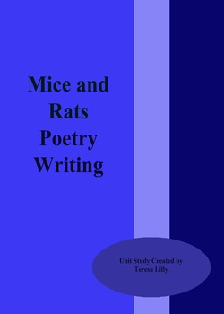 Poetry: Mice and Rats Poetry Writing