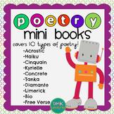 Poetry Mini Books & Poster Set
