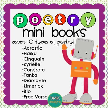 Poetry Mini Books & Poster Set