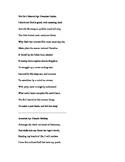 Poetry Mini Lesson