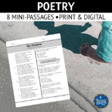 Poetry Comprehension Passages