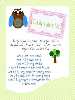 Poetry Mini Posters