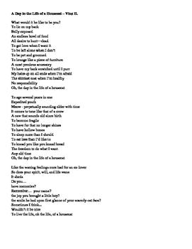 Poetry Mini-Unit - Elegy - Ode - Ballad + Rubrics