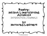 Poetry Mini-Unit: Haiku, Limerick & Acrostic