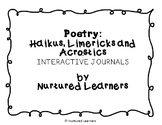 Poetry Mini-Unit: Haiku, Limerick & Acrostic