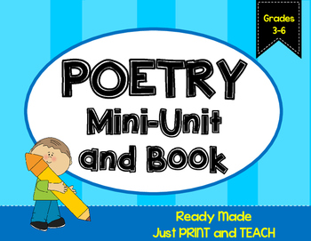 Poetry Mini-Unit {NO PREP}