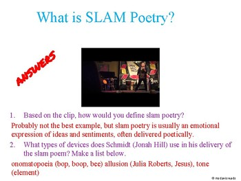 Poetry Mini Unit Resources