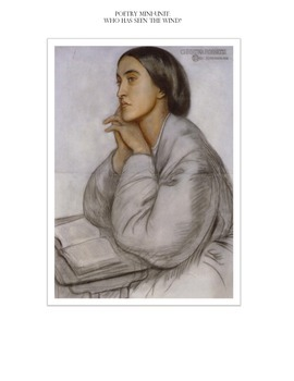 Poetry Mini-Unit: Who Has Seen the Wind? by Christina Rossetti