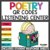Poetry QR Codes Listening Center Bundle