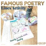 Poetry Month Activities