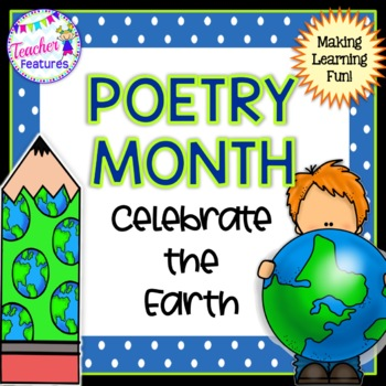 POEMS for 1st grade and 2nd grade : Poetry Templates for Poetry Month