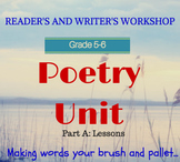 Poetry Unit (Part 1 of 2) for Poetry Month: Lesson by Lesson Guide