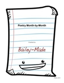 Poetry Month-by-Month