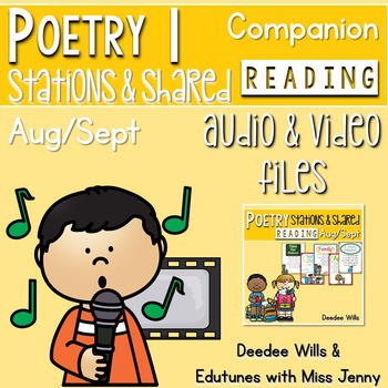 Poetry Music  and Video August and September