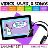 Poetry Music  and Video January
