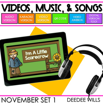 Poetry Music and Video November