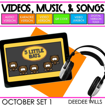 Poetry Music and Video October