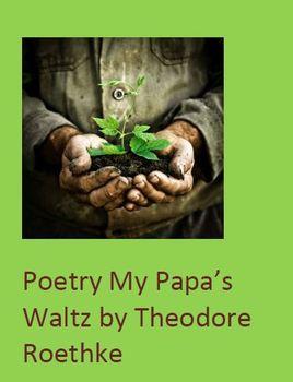 Poetry My Papa's Waltz by Theodore Roethke