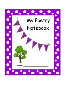 Poetry Notebook Cover