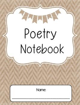 Poetry Notebook Freebie