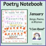 Poetry Notebook: January Songs, Poems, and Rhymes