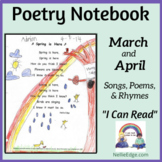Poetry Notebook: March and April