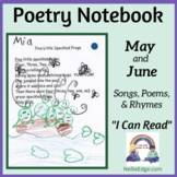 Poetry Notebook: May and June