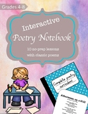 Poetry Notebook- No Prep Complete Poetry Curriculum for Gr