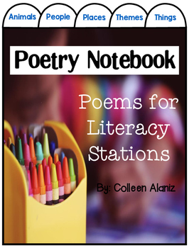 Poetry Notebook: Poems for Stations