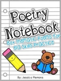 Poetry Notebook or Binder