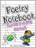 Poetry Notebook or Binder: Nursery Rhyme Edition