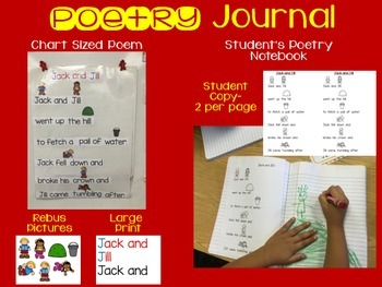 September Poetry with Rebus Pictures