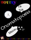 Poetry: Onomatopoeia w/ 5 Activities (Digital/Remote, 2 Da