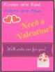 Poetry: Original Valentine Writing