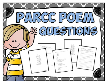 Poetry - PARCC like Poems and Questions - Central Message / Theme