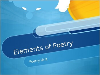 Poetry PPT