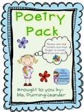 Poetry Pack 1-3