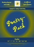 Poetry-Pack:  10 Poems for Students to Discover & Create!