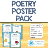Poetry Posters Pack