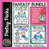 Winter Poetry BUNDLE--Fantasy Reading, Rhyming, & Writing