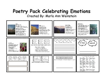 Poetry Pack Celebrating Emotions