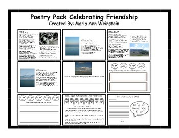 Poetry Pack Celebrating Friendship