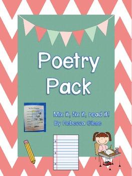 Poetry Pack {Mix it, fix it, read it!}